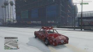 GTA Online [Xbox One X] - Vapid Clique Customization & Gameplay