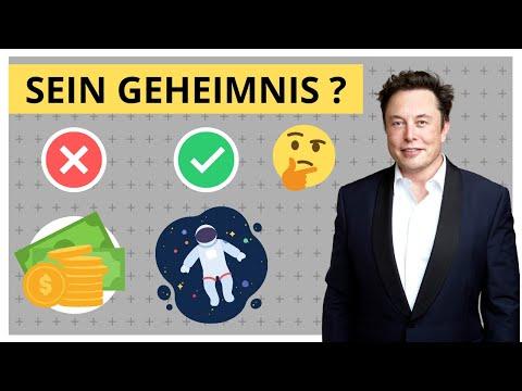 Wie Elon Musk 100 Mrd. gemacht hat - Seine 8 Prinzipien zum Erfolg
