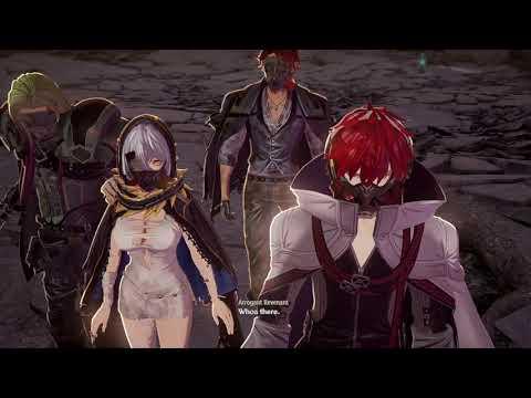 Anime Game : CODE VEIN - Part #1 [Ruined city underground] |