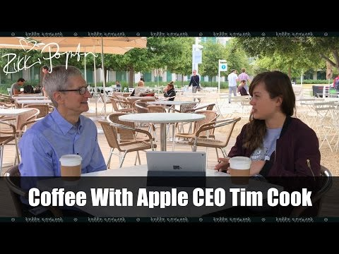Coffee and Sit Down With Apple CEO Tim Cook