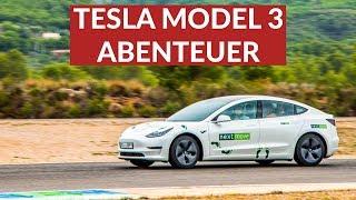 Verrückter Tesla Roadtrip Mit Dem Tesla Model 3 Nach Spanien