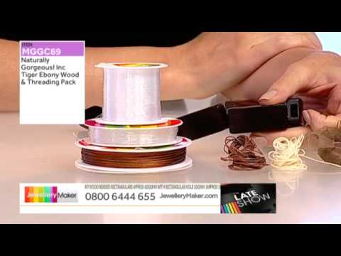 Black Spinel and Citrine for jewellery making :JewelleryMaker late show 29/07/2014