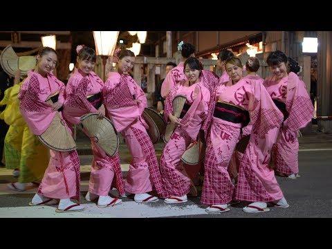 "4k おわら風の盆2018初日 天満町最終演技 Most beautiful Bon dance ""Owara Kazenobon"""
