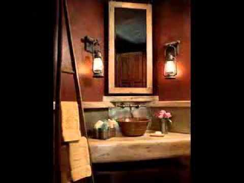 Rustic Bathroom Design Ideas Youtube