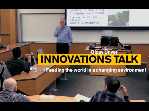 Innovation Talk: Feeding the World in a Changing Environment