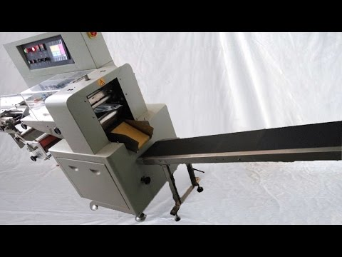 horizontal packing machine customized with final product output conveyor belt turntable for Serbian