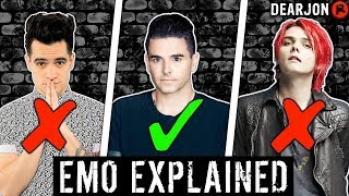 Emo Explained: What Is/Isn't Emo?!