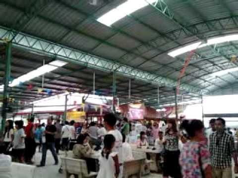 ตลาดน้ำ วัดตะเคียน วันวิสาขบูชา 2555