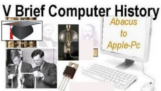 V Brief Computer History Abacus to PC