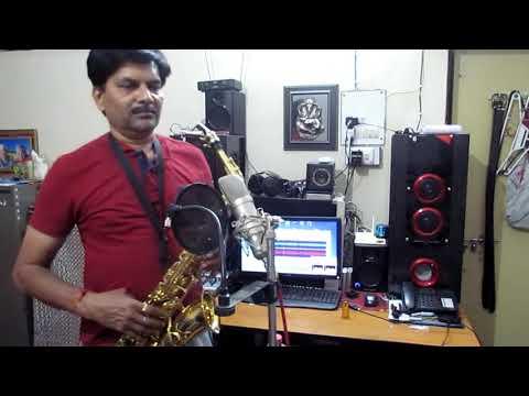 Aye Mere Hum Safar ek Tera Intzaar Saxophone Cover Dr C B Savita