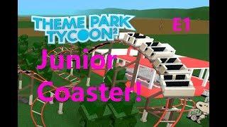 ROBLOX Theme Park Tycoon 2 - Park building series E1 - Kiddie Coaster