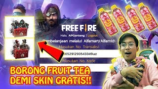 Gambar cover BORONG FRUIT TEA DEMI DAPETIN BUNDLE SKIN FREE FIRE GRATIS!!
