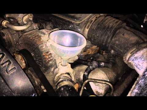 Jeep Coolant Bleed Port, How to open and add coolant. WJ Jeep Grand Cherokee