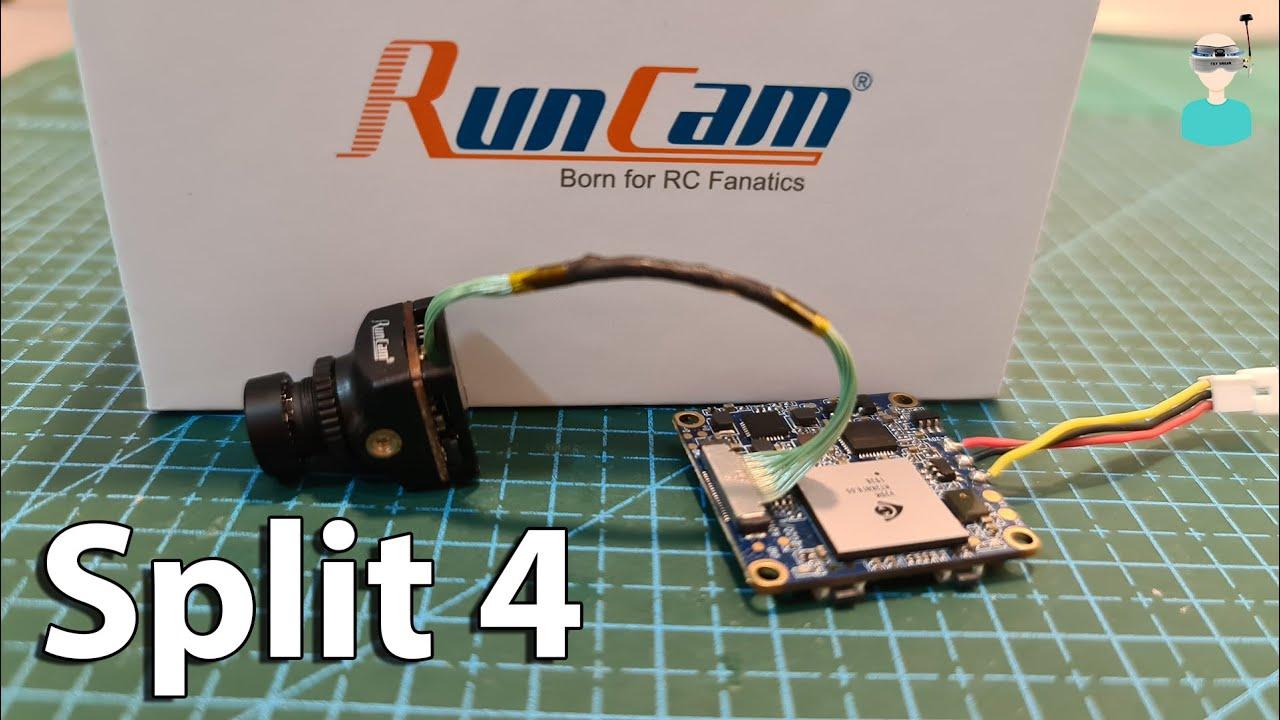 Runcam Split 4 - Overview, Latency Test & Flight Footage