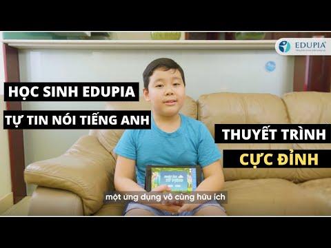 Cùng Tuấn Kiệt khám phá những bài học Tiếng Anh siêu thú vị của Edupia