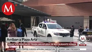PGJ recolecta evidencia de balacera en Artz Pedregal