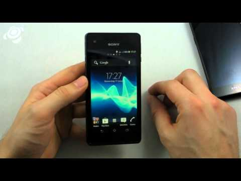 Sony Xperia V im Hands-On