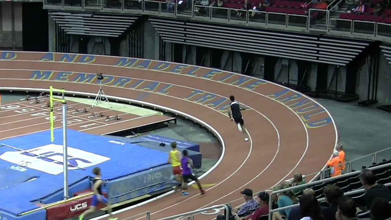 ... State Championship Sprint Medely Fresno Indoor Track Field - YouTube