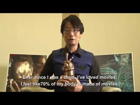 BAF 2014 - Hideo Kojima Receives Bradford City of Film Cinematography Award