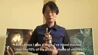BAF 2014 - Hideo Kojima Receives Bradford City of Film Cinematography Award