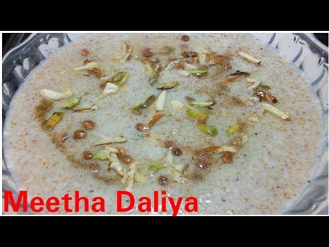 Meetha Daliya recipe by Kitchen with Rehana