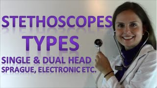 Different Types of Stethoscopes for Nursing Students & Nurses (Part 2 of 3)