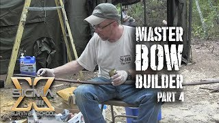 Master Bow Builder Series Part 4 Staining and Sealing