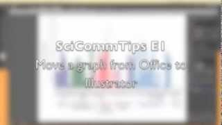 SciCommTips e1 - Figures from Excel and PowerPoint to Illustrator