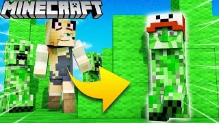 CREEPER TROLL?! - ZABAWA W CHOWANEGO W MINECRAFT (Hide and Seek) | Vito vs Bella