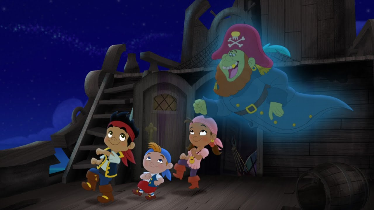 Jake And The Never Land Pirates Pirate Ghost Story