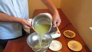 Суп из  зеленого винограда
