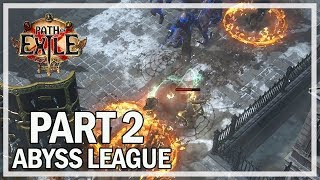Path of Exile - Abyss League Lets Play Part 2 - Key to Freedom