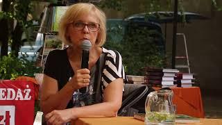 Małgorzata Gutowska podczas Pikniku z Książką - 15.06.2018