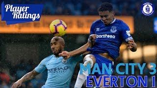 Manchester City 3-1 Everton | Player Ratings