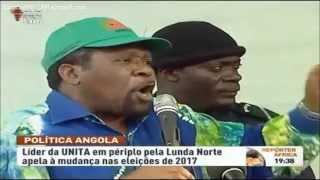Presidente da UNITA na Província da  Lunda Norte