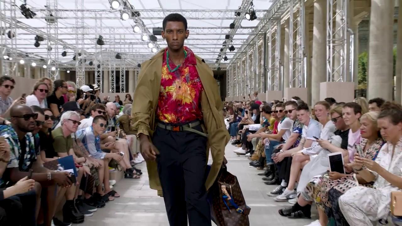 79b374410b10 Louis Vuitton Men s Spring-Summer 2018 Fashion Show Highlights - YouTube