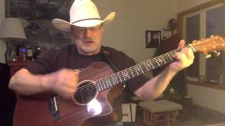 1733 -  Where The Green Grass Grows - Tim McGraw vocal and acoustic guitar cover with chords