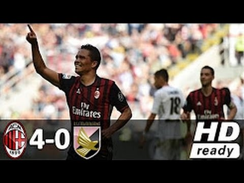 AC Milan vs Palermo 4-0 All Goals &...