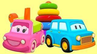 Kinder Video. Farben lernen mit den Schlauen Autos.