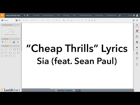 Cheap Thrills by Sia (feat. Sean Paul) Lyrics in...