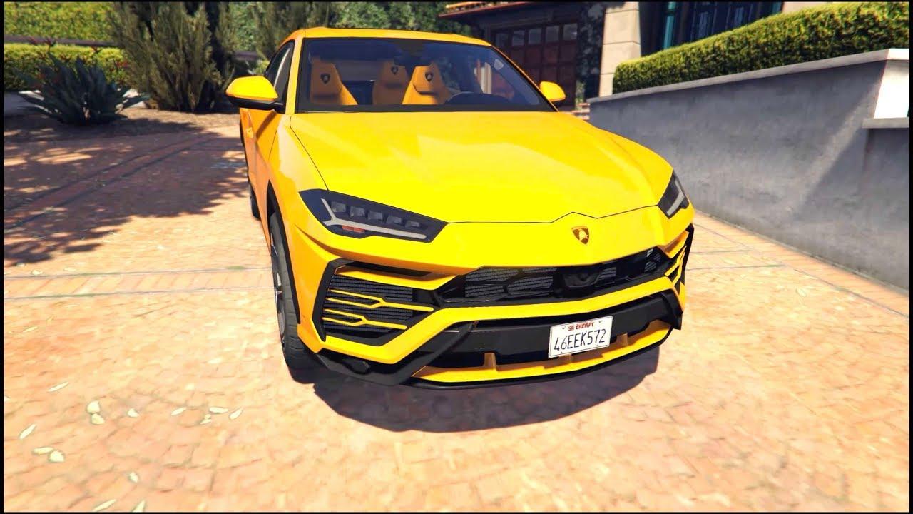 Gta 5 Lamborghini Urus 4k Gameplay Youtube