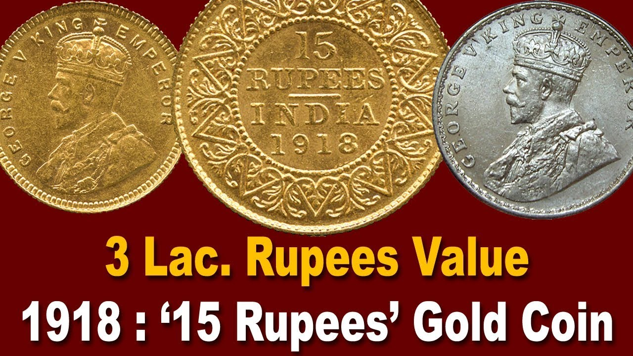 100 Years Old Antique Indian Gold Coins