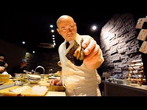 Sushi Master of Taiwan - BADASS Japanese Food in Taiwan | BEST Japanese SEAFOOD Omakase at SUSHI 27