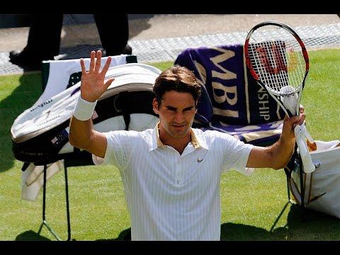 Roger Federer : Incredible Shots Compilation