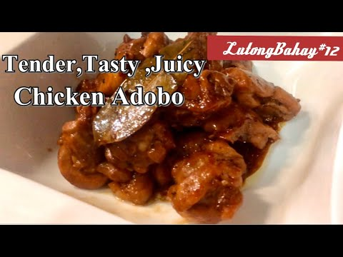 BONELESS CHICKEN THIGHS |CHICKEN ADOBO | EASY COOKING |More Tender and Tasty