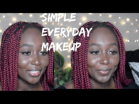 Back to School Everyday Makeup: Very Natural Looking | Adwoa A thumbnail