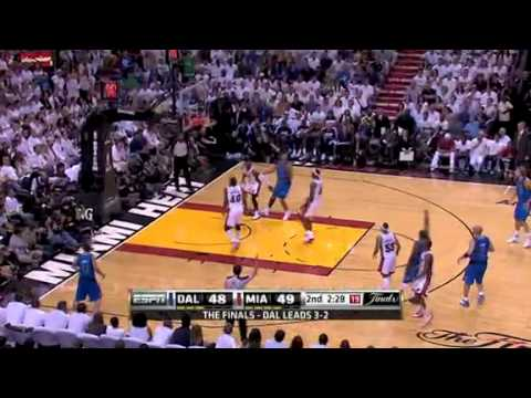 NBA Finals 2011: Dallas Mavericks Vs Miami Heat Game 6 Highlights (4-2) Dallas Champions