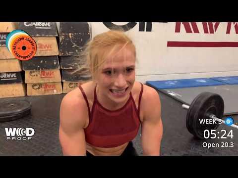 CrossFit Open Workout 20.3 Winner - Annie Thorisdottir