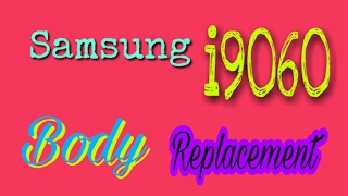 How to change Samsung i9060 (grand neo) body video by mobonic