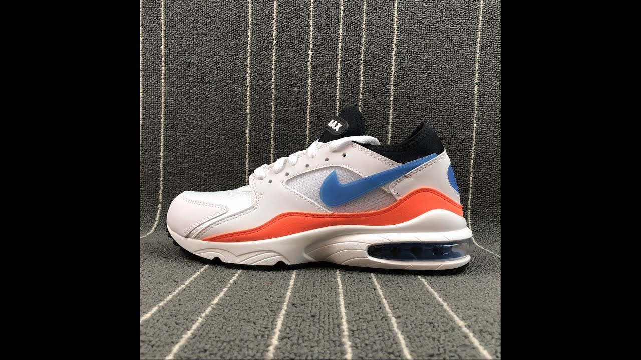 designer fashion 9b463 ee02f Nike Air Max 93 Sport Running Shoes 306551-103 Size 40 40.5 41 42 ...